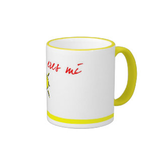 Abuelita eres mi sol ringer mug