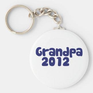 Abuelo 2012 llaveros personalizados