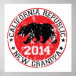 abuelo 2014 de la república de California nuevo Posters