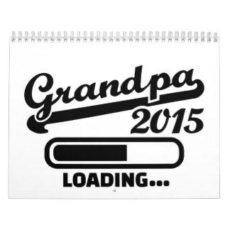 Abuelo 2015 calendarios de pared