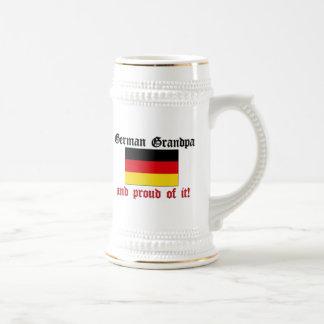 Abuelo alemán orgulloso taza