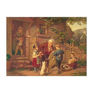 Abuelo asesor 1871 impresiones en lona estiradas