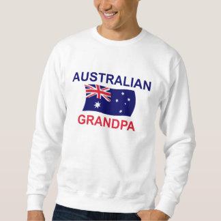 Abuelo australiano sudaderas encapuchadas