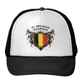 Abuelo belga del número uno gorras de camionero