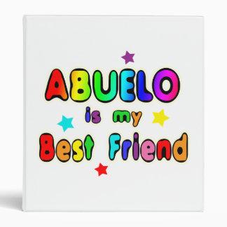Abuelo Best Friend 3 Ring Binder