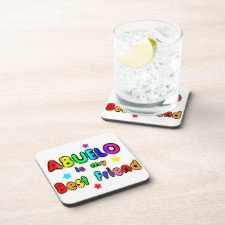 Abuelo Best Friend Coaster