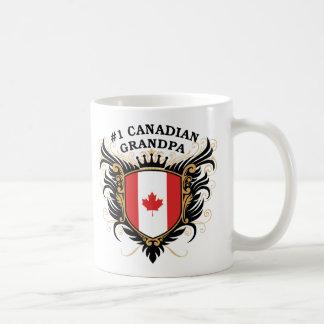 Abuelo canadiense del número uno taza clásica