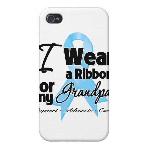 Abuelo - cinta del cáncer de próstata iPhone 4 carcasa