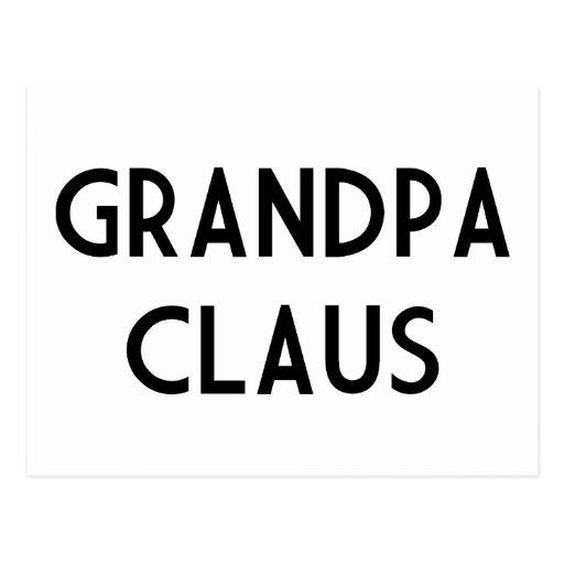 Abuelo Claus Tarjetas Postales