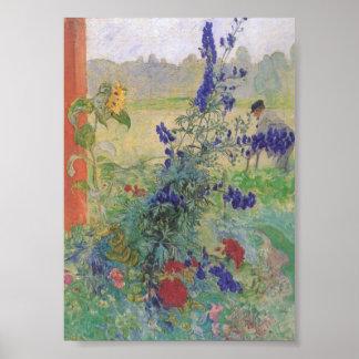 Abuelo con las flores 1909 impresiones