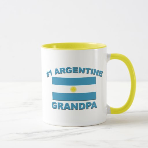 Abuelo de #1 Argentina Taza