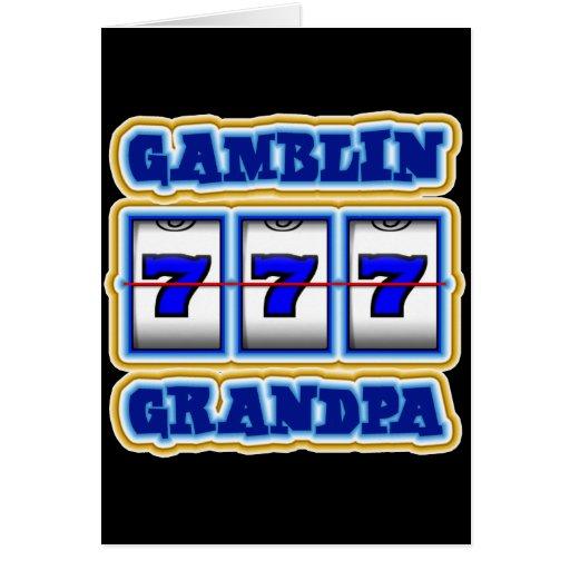 ABUELO DE GAMBLIN TARJETÓN