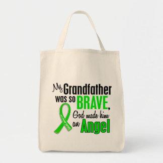 Abuelo de la distrofia muscular del ángel 1 bolsa lienzo