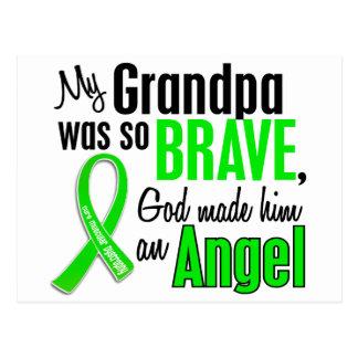 Abuelo de la distrofia muscular del ángel 1 tarjetas postales
