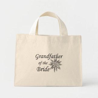 Abuelo de la novia bolsa tela pequeña