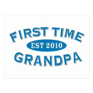Abuelo de la primera vez postal