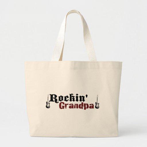 Abuelo de Rockin Bolsas De Mano