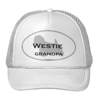 Abuelo de Westie Gorras