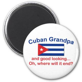 Abuelo del cubano de Gd Lkg Imán Redondo 5 Cm