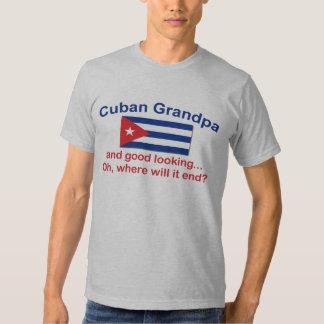 Abuelo del cubano de Gd Lkg Playeras