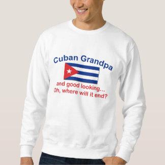 Abuelo del cubano de Gd Lkg Pullover Sudadera