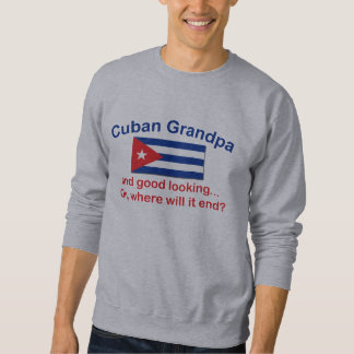 Abuelo del cubano de Gd Lkg Sudaderas