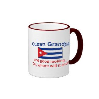 Abuelo del cubano de Gd Lkg Taza A Dos Colores