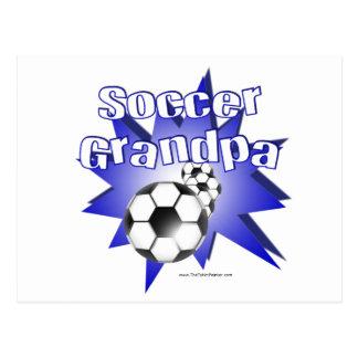 Abuelo del fútbol tarjetas postales