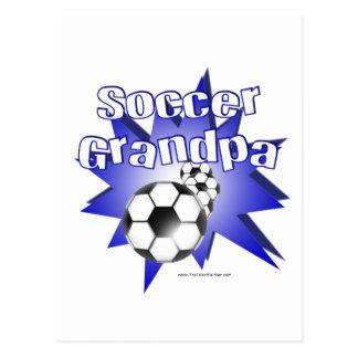 Abuelo del fútbol postal