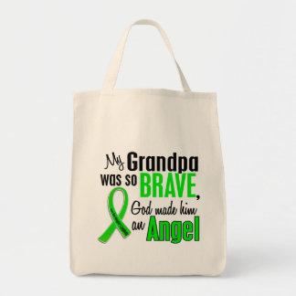 Abuelo del linfoma Non-Hodgkin del ángel 1 Bolsa Tela Para La Compra
