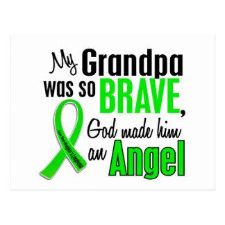 Abuelo del linfoma Non-Hodgkin del ángel 1 Tarjeta Postal