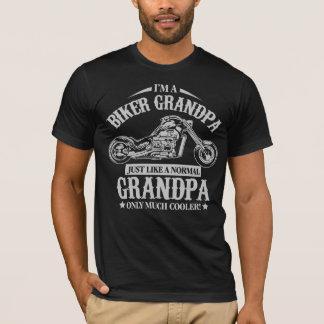 Abuelo del motorista playera