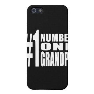 Abuelo del número uno de los cumpleaños y del navi iPhone 5 protector