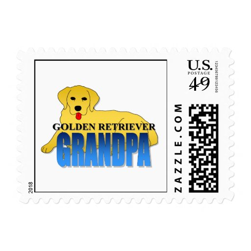 Abuelo del perro del golden retriever envio