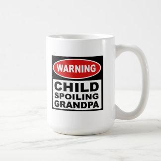Abuelo divertido taza clásica