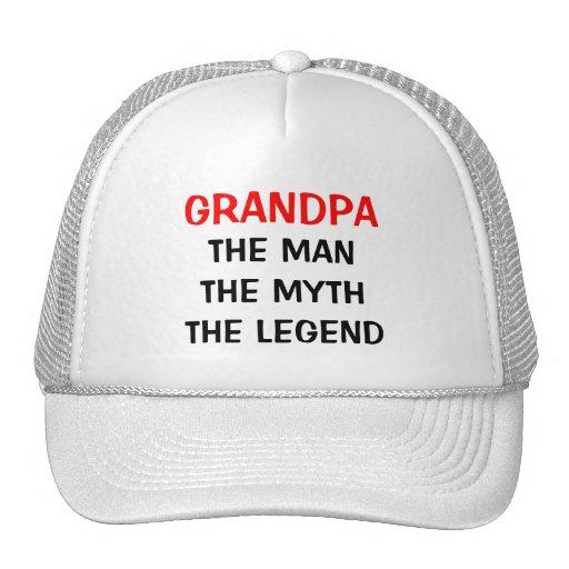 Abuelo el gorra de la leyenda del mito del hombre