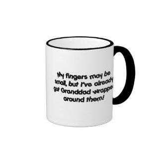 ¡Abuelo envuelto! Tazas De Café