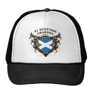 Abuelo escocés del número uno gorro