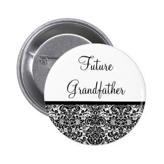 Abuelo futuro pin redondo 5 cm