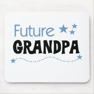 Abuelo futuro alfombrilla de raton