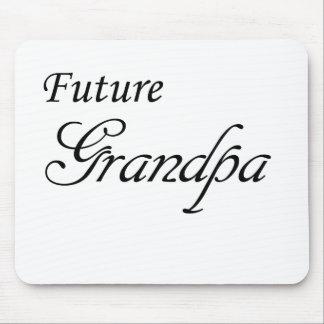 Abuelo futuro tapetes de ratón