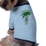 Abuelo hawaiano ropa de perros