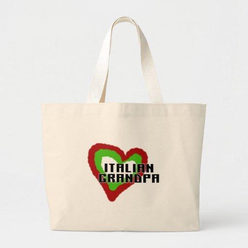 Abuelo italiano bolsa de mano