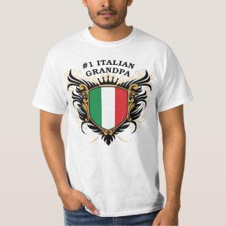 Abuelo italiano del número uno camisas