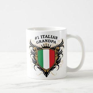 Abuelo italiano del número uno tazas de café