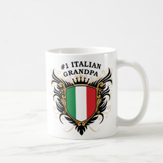 Abuelo italiano del número uno taza clásica