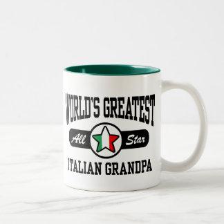 Abuelo italiano taza