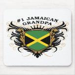 Abuelo jamaicano del número uno tapetes de ratones