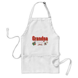Abuelo, la mejor cosa siguiente a Santa Delantal
