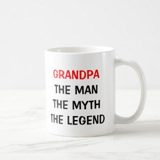 Abuelo la taza de la leyenda del mito del hombre